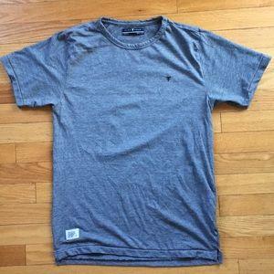 FIVE FOUR Thin Striped Short Sleeve T Shirt
